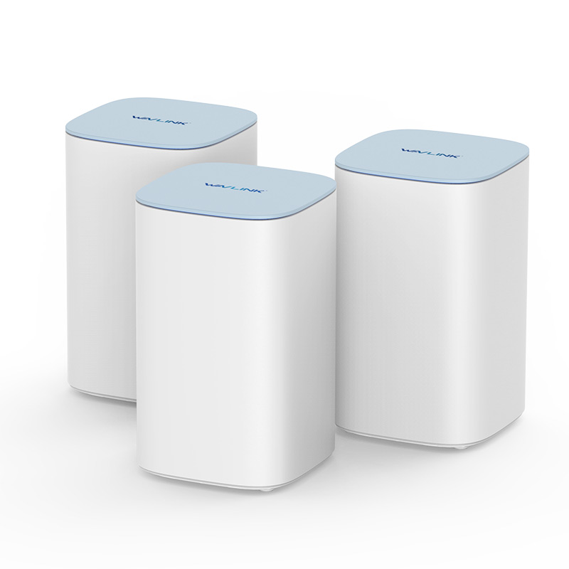 HALO Polar – AC3000 MU-MIMO Tri-band Whole Home WiFi Mesh System with Touchlink