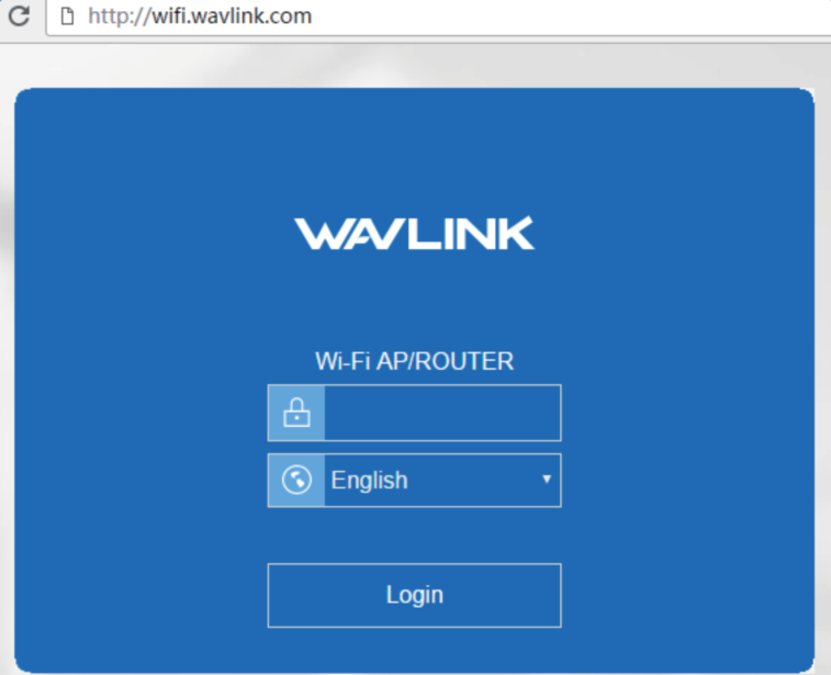 How To Log In To The Web Management Page Of Wavlink