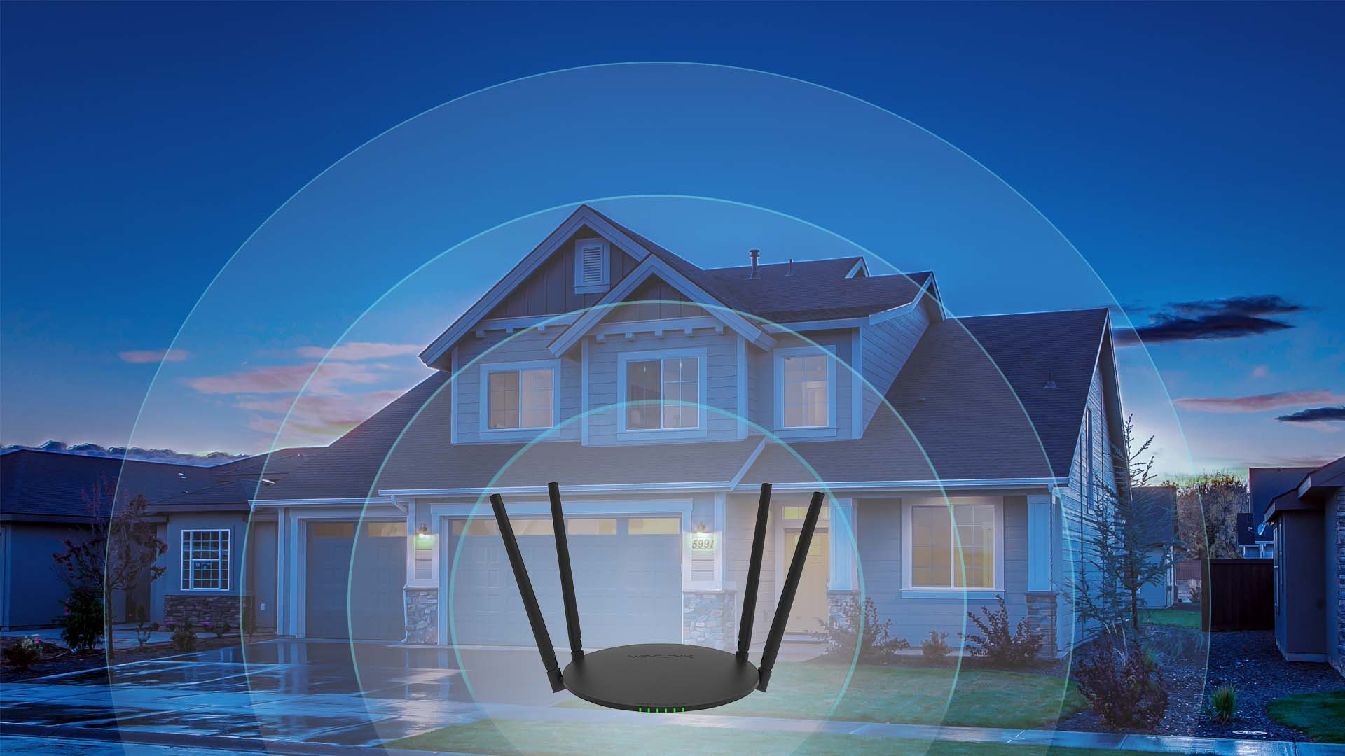 QUANTUM D4H – AC1200 Wireless Dual-band High Power Smart Wi-Fi ...