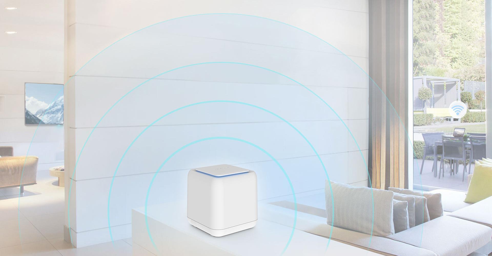 高增益的天线和波束成形技术,增强信号覆盖范围