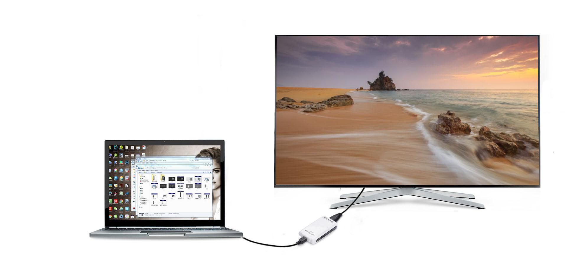 主副屏显示不同画面,提高工作效率