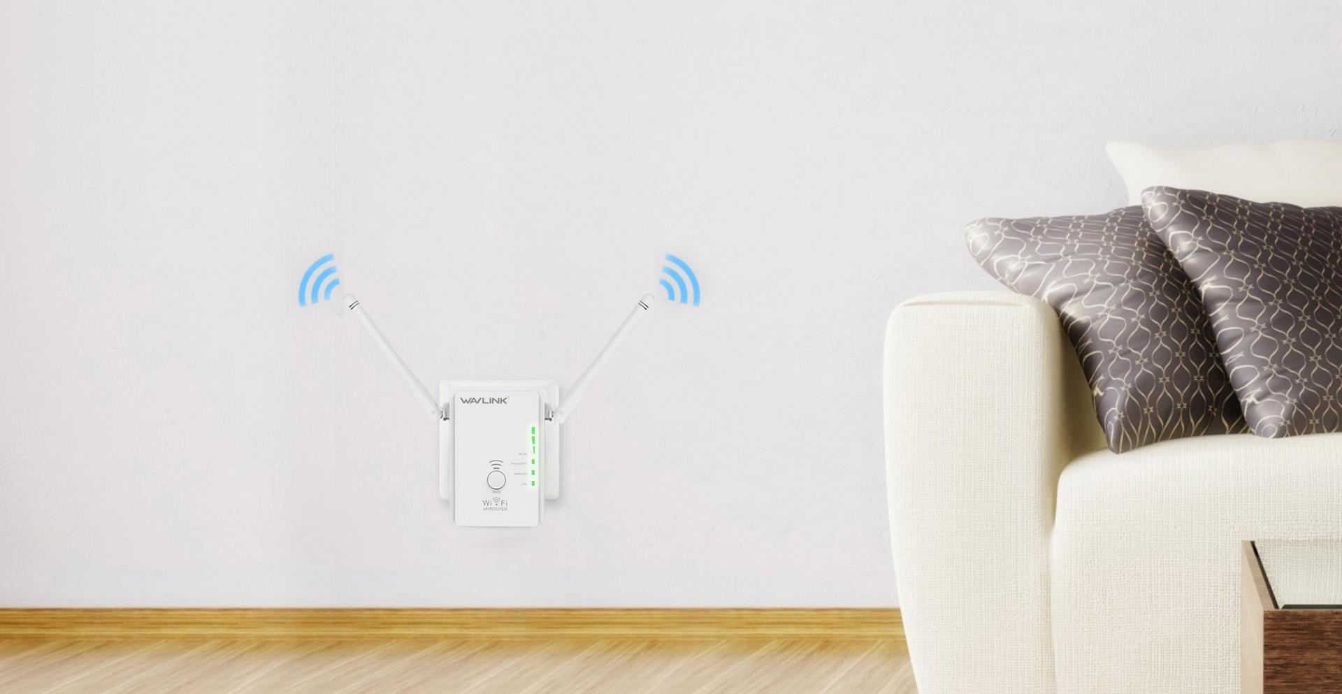 578R2中继器带智能LED灯,轻松找到最佳的放置位置