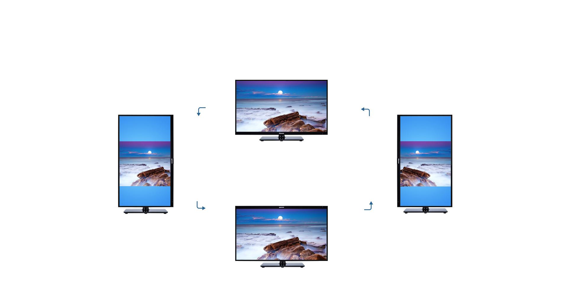 根据实际需要选择屏幕旋转