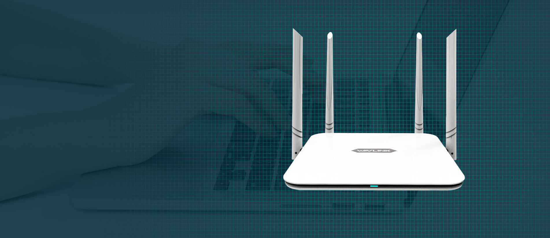 AC1200 High Power Dual Band Wireless Router