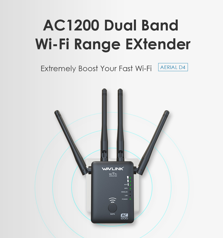 WN575A3 AERIAL D4 – AC1200 Dual-band Wireless AP/Range
